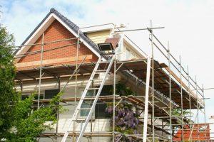 renovation of a modern house