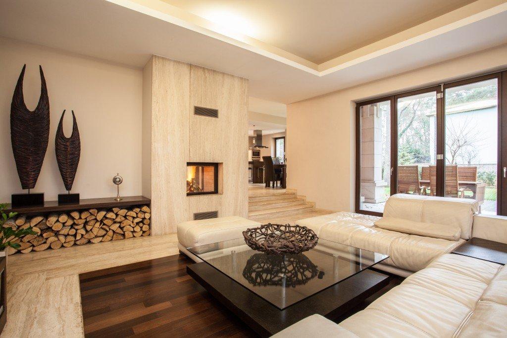 Inside a beautiful house