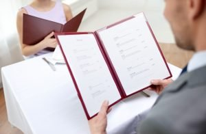 Deciding on what to put in your restaurant's Menu