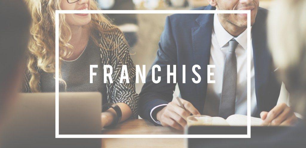 Franchising Business idea Concept
