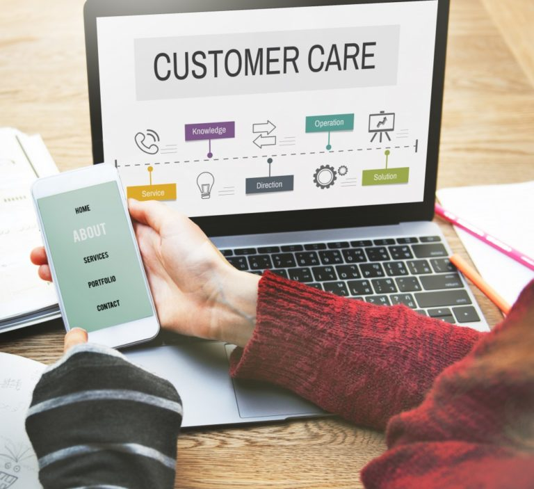 Customer service operation