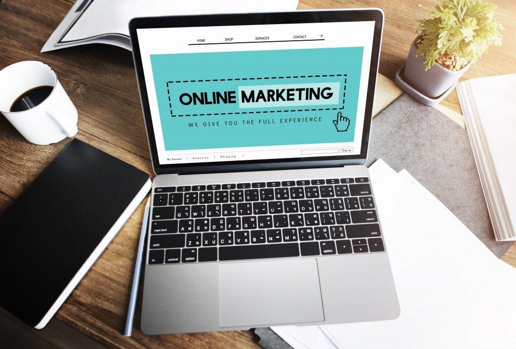 Website digital concept