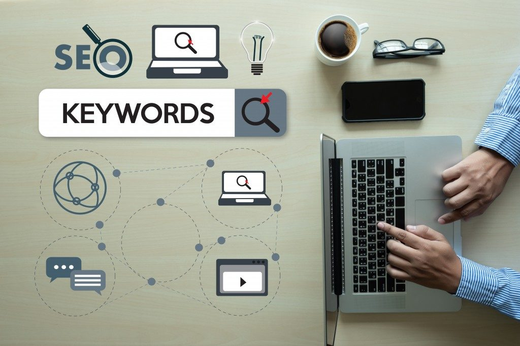 SEO, keywords and online marketing