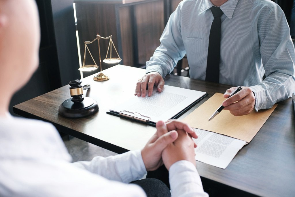 speaking to a lawyer