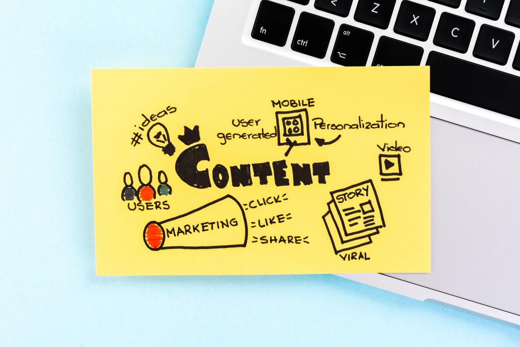 content marketing doodles