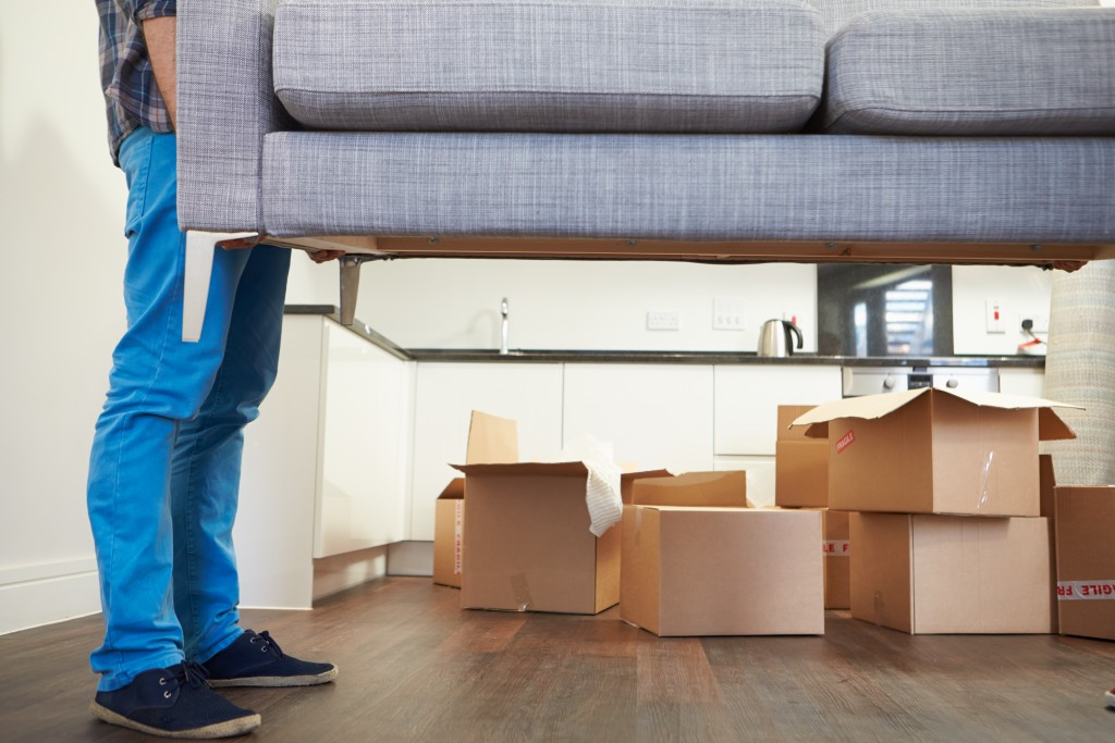 moving out concept
